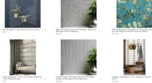 Burke Décor website product page for wallpapers