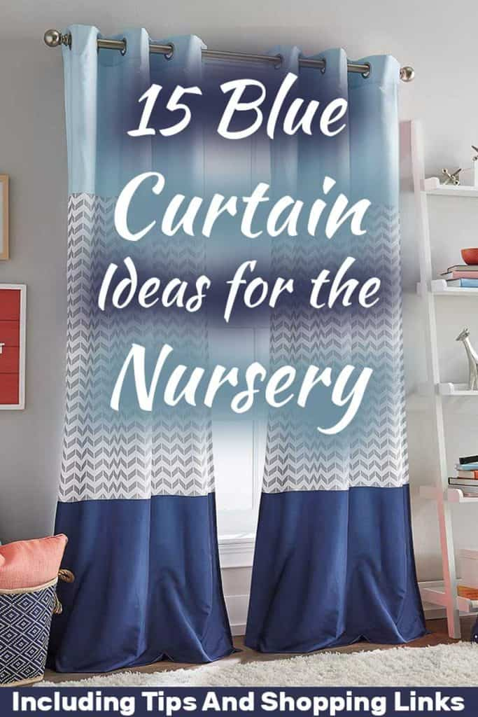 15 Blue Curtains Ideas For The Nursery (Including Tips And Shopping Links)