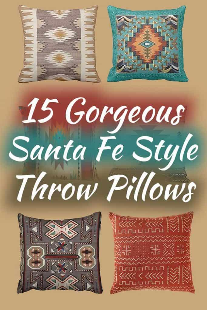 15 Gorgeous Santa Fe Style Throw Pillows You Need To See