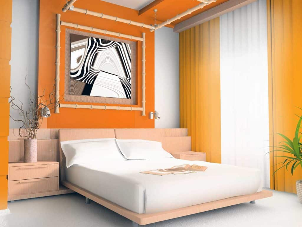 10+ Awesome Orange Bedroom Ideas That Will Inspire You - Home