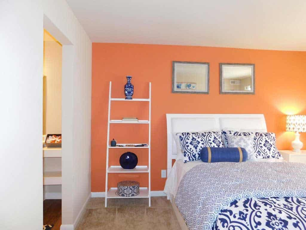 12+ Awesome Orange Bedroom Ideas That Will Inspire You - Home